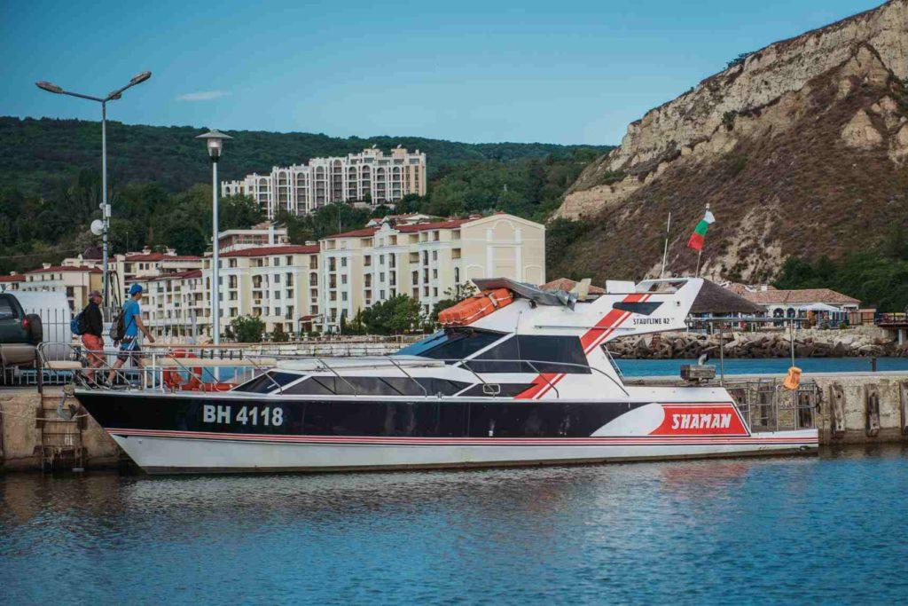 boat trip in Balchik