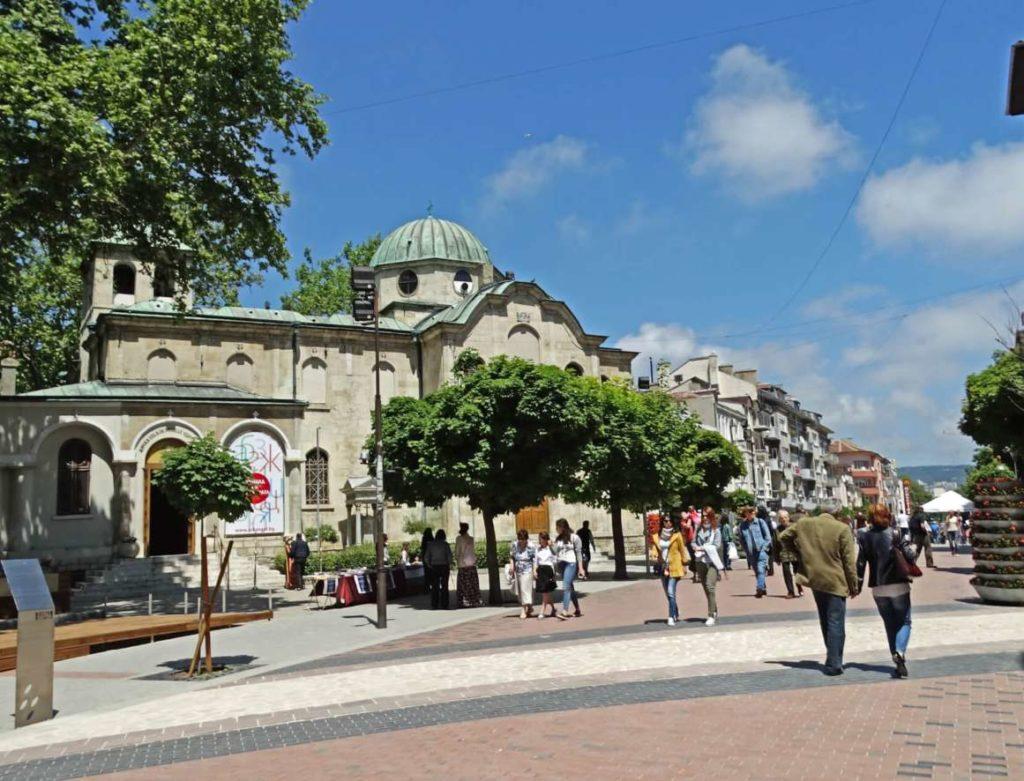 city center Varna