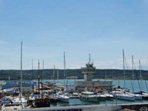 The port of Varna